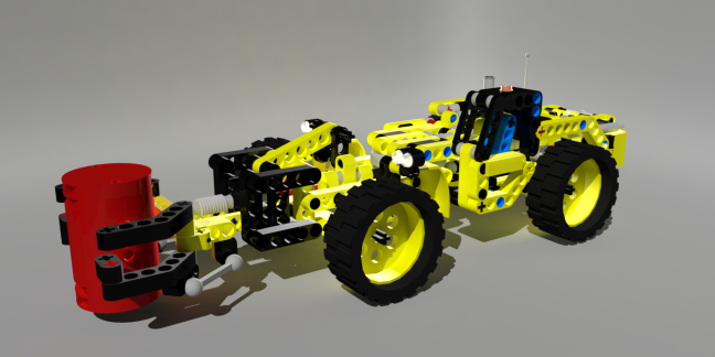 Lego-Technic Build Example
